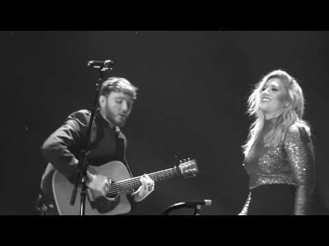James Arthur & Ella Henderson ~ Let's go home together ~ Birmingham ~ Arenatour