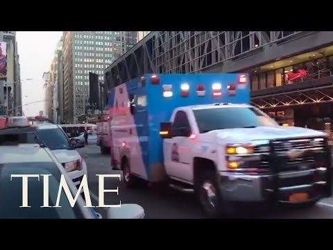 Download Youtube: 4 Injured After Explosion At Port Authority In New York City: One Person In Custody | TIME