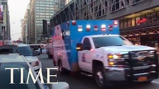 4 Injured After Explosion At Port Authority In New York City: One Person In Custody | TIME