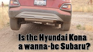 Is the Hyundai Kona a wanna-be Subaru?