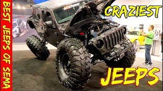 Best Jeeps of Sema 2018 - crazy mods and custom jeeps