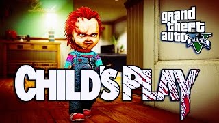 GTA 5 - CHUCKY CHILD'S PLAY PART 1
