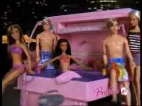 barbie hot tub party bus commercial german youtube. Black Bedroom Furniture Sets. Home Design Ideas