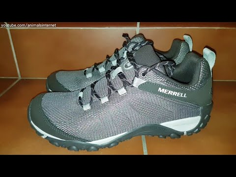 lägsta rabatt bättre fantastiska besparingar Merrell Yokota 2 E-Mesh hiking shoes: unboxing - YouTube