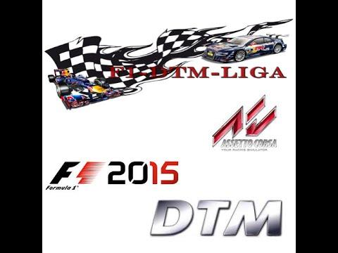 f1-dtm-liga.com | AC DTM Liga Finales Rennen Hockenheimring (Highlight´s)