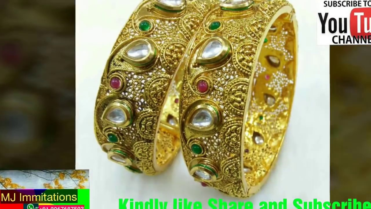 6819d04e7 Mj Immitation Jewellery Bangles Video Dec. 2017 Collection - YouTube