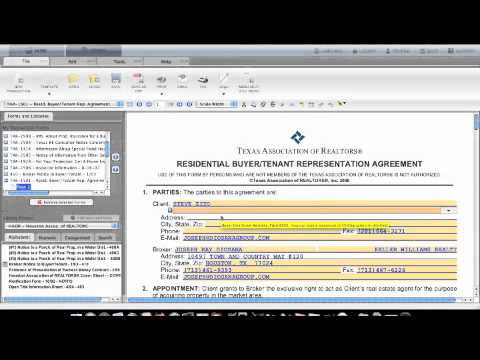 D090 Complete The Buyer Rep Agreement Youtube
