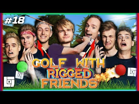 GOLF WITH RIGGED FRIENDS met Pascal vs Don, Roy, Jeremy, Joost, Milan en Roedie | LOGS3 | #18