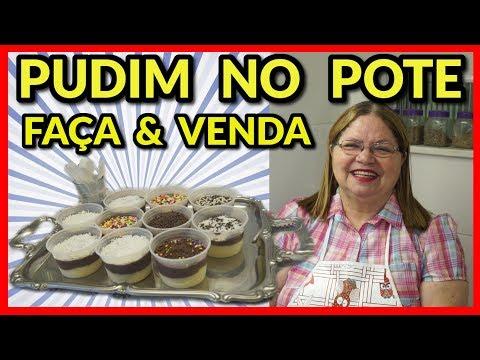 PUDIM NO POTE ( FAÇA & VENDA )