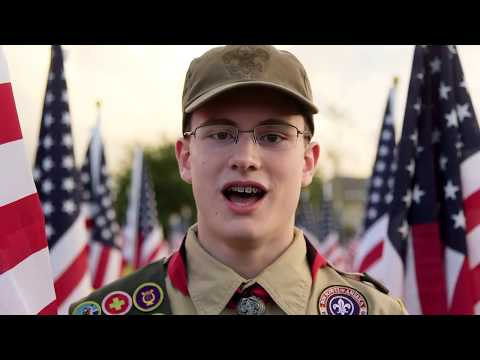 Proud To Be An American   Nathan Cox's Eagle Scout Service Project