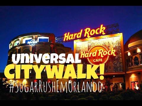 Dicas Orlando | Universal CityWalk: Hard Rock Café & Lojas!
