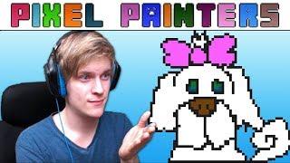 Pixel Painters! - Kis Mikk Rajzolás! :3 - w/DoggyAndi