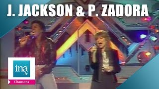 Jermaine Jackson Pia Zadora When The Rain Begins To Fall Archive INA