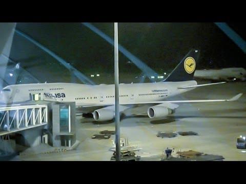 Lufthansa Boeing 747-400 / Shanghai PuDong to Frankfurt