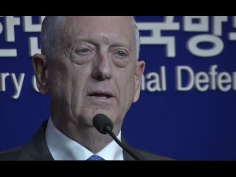 Secretary Mattis URGENT Press Briefing with South Korean Def