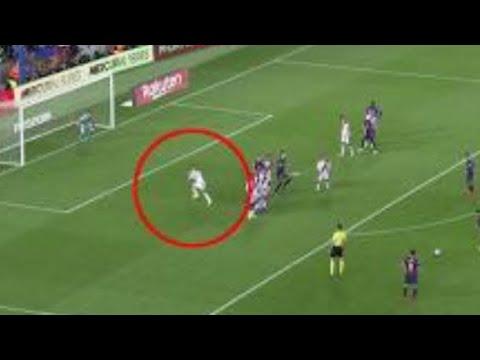 INCREIBLE! Mira como atajan un gol de falta de Messi | Barça vs Rayo