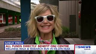 Olivia Newton-John: 9News Melbourne (September 16, 2018)