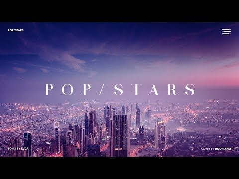 K/DA - POP/STARS Piano Cover (ft. (G)I-DLE, Madison Beer, Jaira Burns)