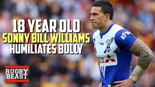 18 year old Sonny Bill Williams Humiliates Souths Player