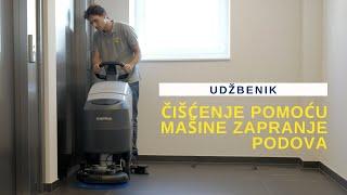 HBS No7 Čišćenje pomoću mašine za pranje podova