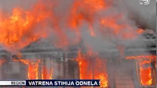 TV KANAL9, NOVI SAD: Vatrena stihija odnela šest kuća