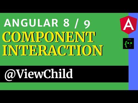 Angular Component Interaction - @ViewChild   Pass Data Between Component   CodeWithSrini