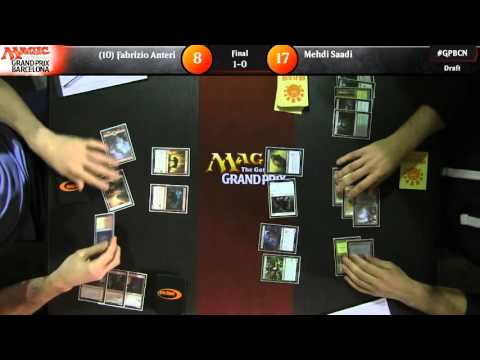 Grand Prix Barcelona 2016 Finals: Fabrizio Anteri vs. Mehdi Saadi (Draft)
