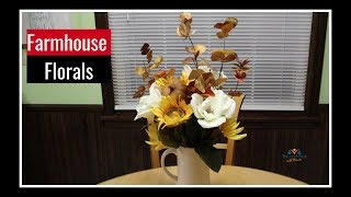 Fall Farmhouse Decorate with Me | Fall Farmhouse Centerpiece