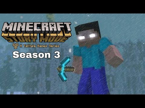 The Rise Of Herobrine - Minecraft Story Mode Season 3 (Fan-Made Trailer)