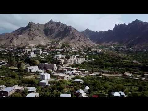 Мегри Армения с высоты птичего полета ՄԵՂՐԻ 2018 4k