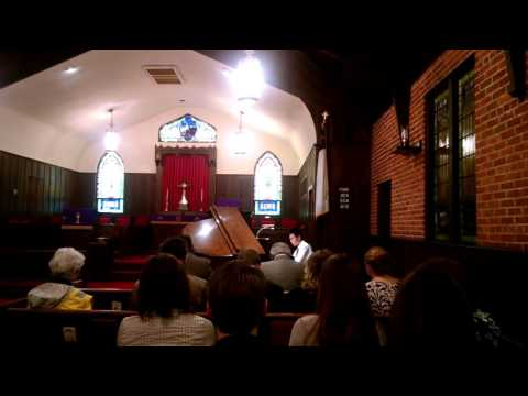 Kevin Wang, piano, lions club, bland competition, second round, first place, 03122016, part 1/2