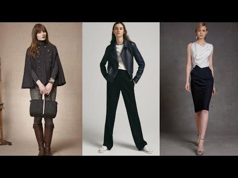 TENDENCIAS MODA Otoño Invierno PARA MUJERES DE 30 Y 40 AÑOS / Fashion Love Elegante Y Fina