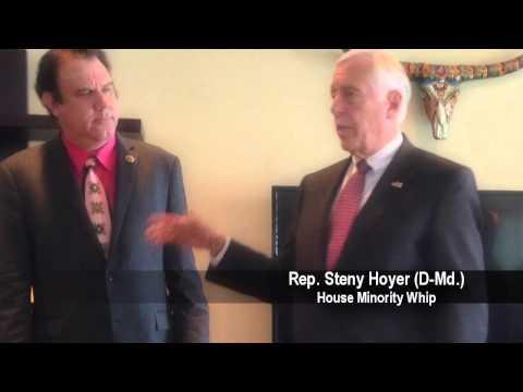 """Minority Whip Steny Hoyer Praises Rep. Grayson's """"Extraordinary Talents"""""""