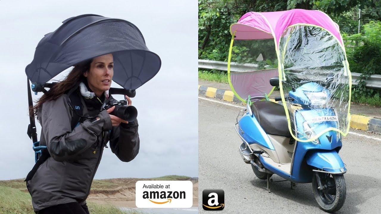12 UNIQUE Rainy Season Gadgets Available On Amazon ▶ WATERPROOF Gadgets Under Rs500, Rs1000, Rs10K