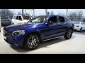2017 Mercedes-Benz GLC 220d Coupe Interior and Exterior Review
