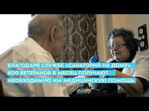 """С 15 июня 2020 года в полном объеме возобновляет свою работу Служба """"Санаторий на дому"""""""