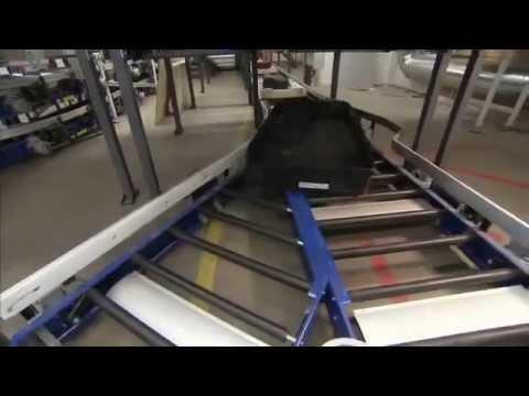 Crisplant LS 4000 Baggage Handling System at Helsinki Airport