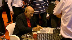 Sir Stirling Moss Signing Autographs at The Lancaster Insurance Classic Car Show 2013