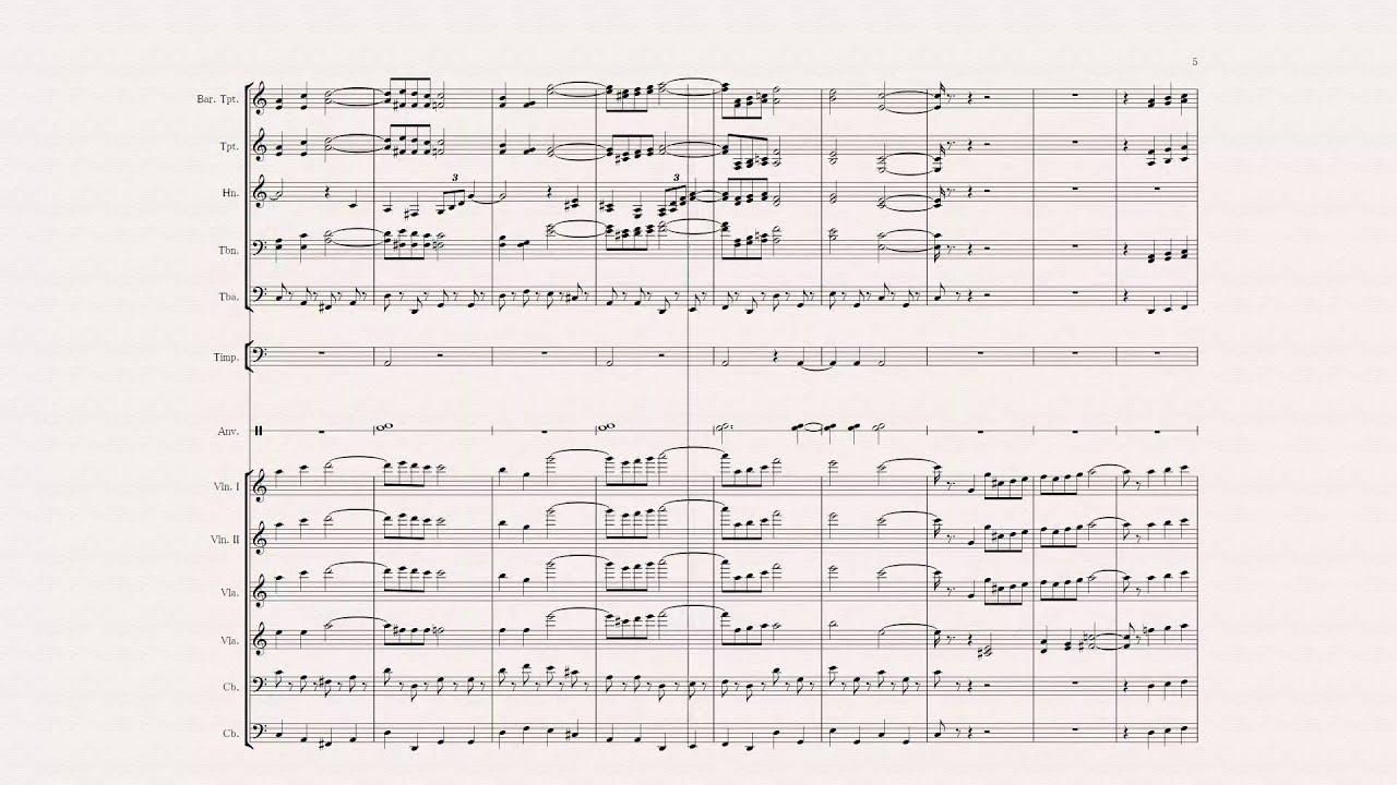 オーケストラ 楽譜