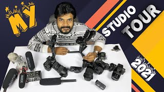 Prasadtechintelugu Studio Tour & Gear 2021 || In Telugu ||