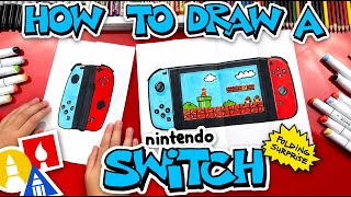 How To Draw A Ninтendo Switch Folding Surprise