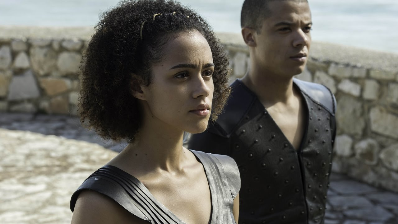 Resultado de imagen de game of thrones missandei and grey