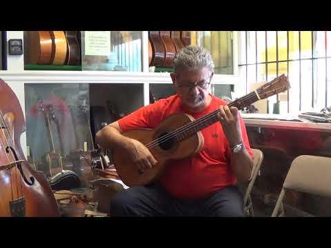 1865 Francisco Guerra Flamenco Guitar  Ricardo Bustillos plays Flamenco Guitar