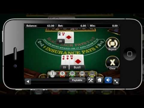 BetsoftGaming Presents Blackjack ToGo™ Mobile
