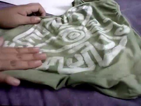 532c9849d7123 Playera con diseño propio (teñida diseño prehispanico) - YouTube