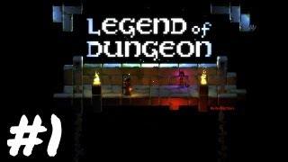 Legend of Dungeon Gameplay - Splattercat's Indie Shorts