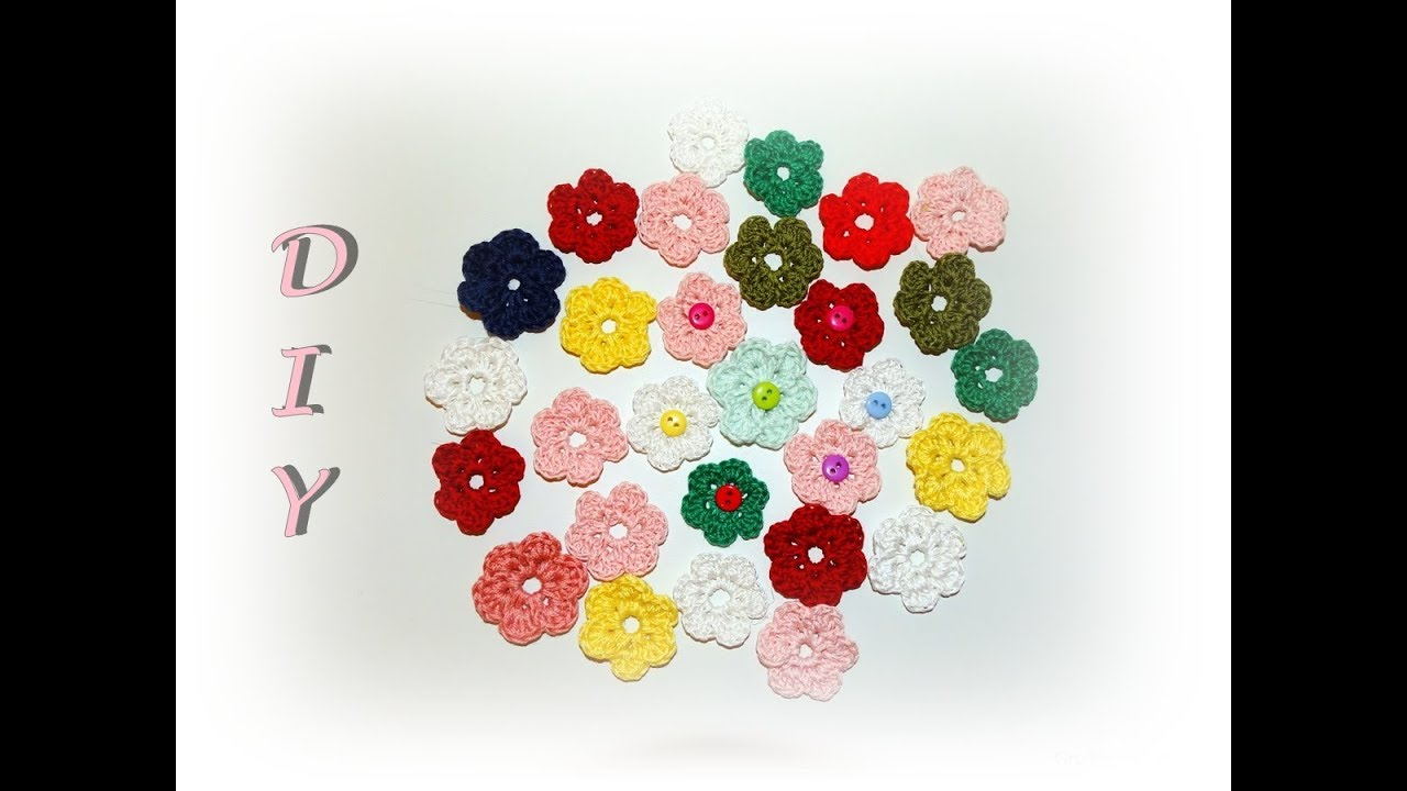 Käthes Nähstunde Diy Blumen Häkeln Einfach Deko Frühling