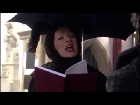 Michelle Gomez singing
