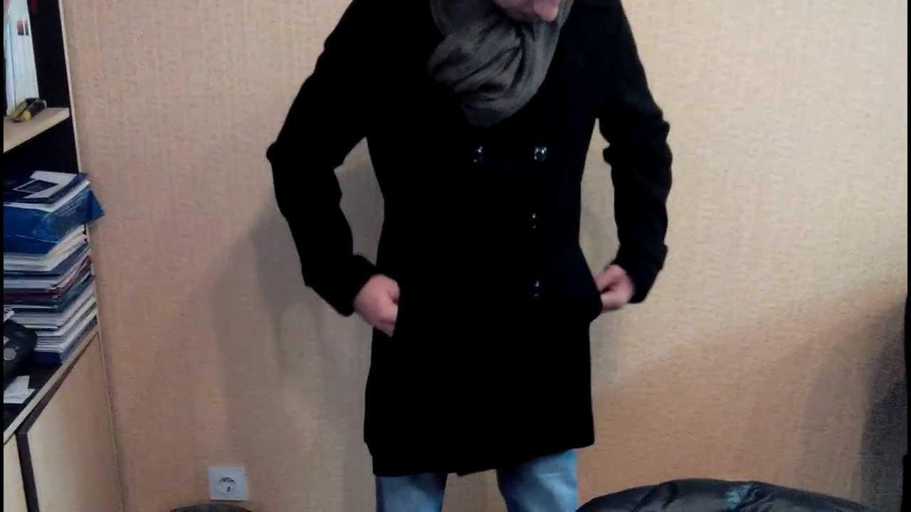 Пальто мужское молодежное зимнее - YouTube