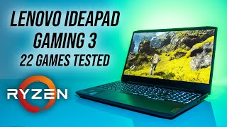 Lenovo IdeaPad Gaming 3 (Ryzen 4600H/1650 Ti) 22 Game Test!